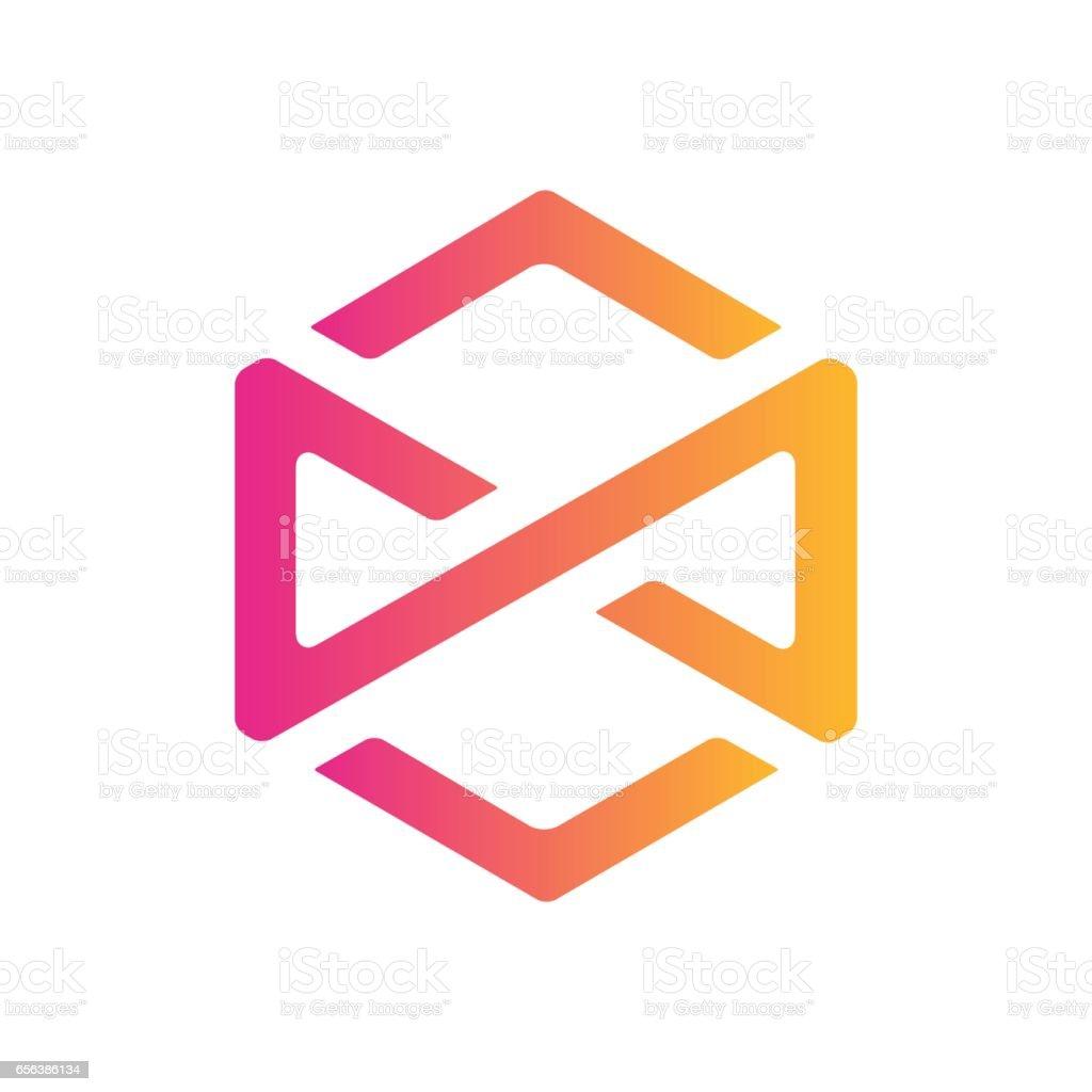 Creative Hexagon Symbol illustration vector art illustration