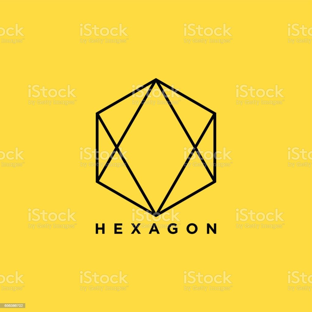 Creative Hexagon Symbol illustration