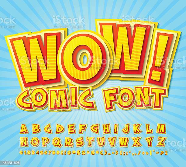 Creative high detail yellowred comic font alphabe comics pop vector id484231598?b=1&k=6&m=484231598&s=612x612&h=hjvd8 h djxeikeoyijeor jbda6onwkr5kcocv az8=
