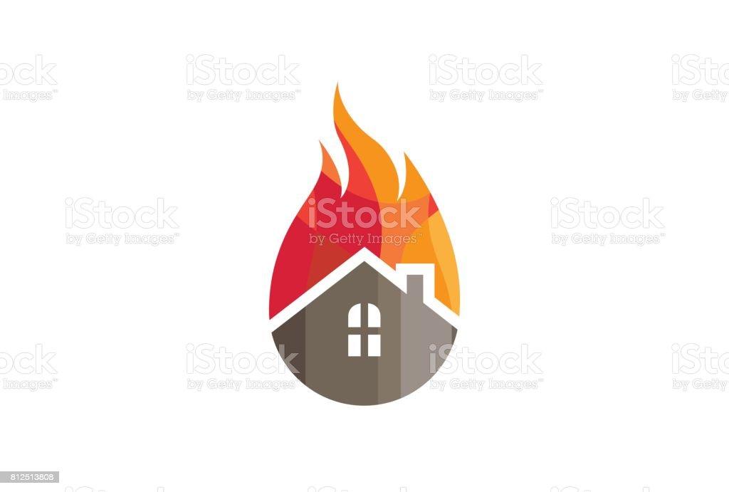 Creative House Fire Design