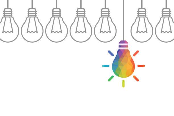 illustrazioni stock, clip art, cartoni animati e icone di tendenza di concetti di idea creativa con lampadina - guida turistica professione