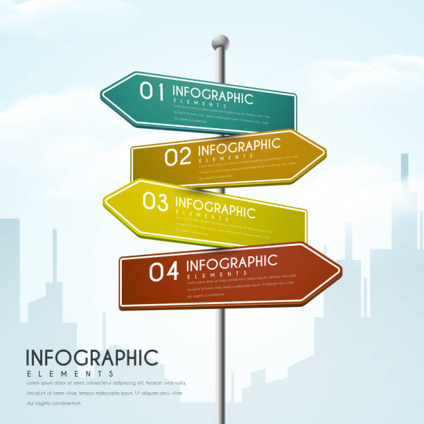 creative infographic design vector art illustration