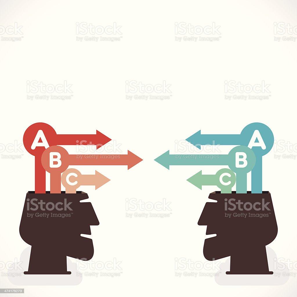 creative info-graphics royalty-free stock vector art