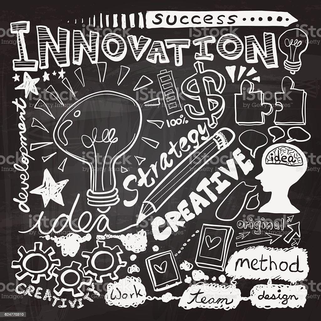 Creativity And Innovation Cartoon Creativity And Innovation Is A