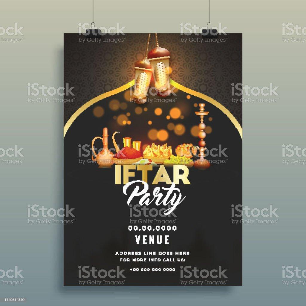 Creative Invitation Card Design With Venue Details Stylish