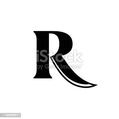 Butcher,  Icon, Logo, Letter R, Sword