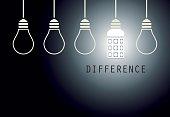 Creative Led Light Bulb Idea