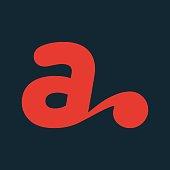 istock Creative letter A emblem 1168795651