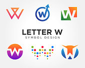 Creative Letter W Icon Collections