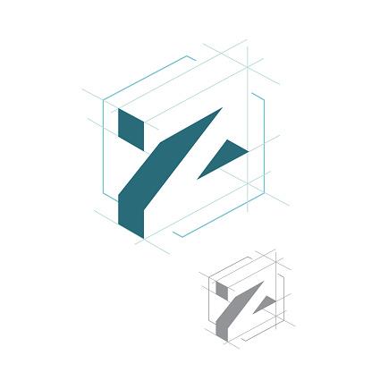 creative Letter Z initial logo design vector template