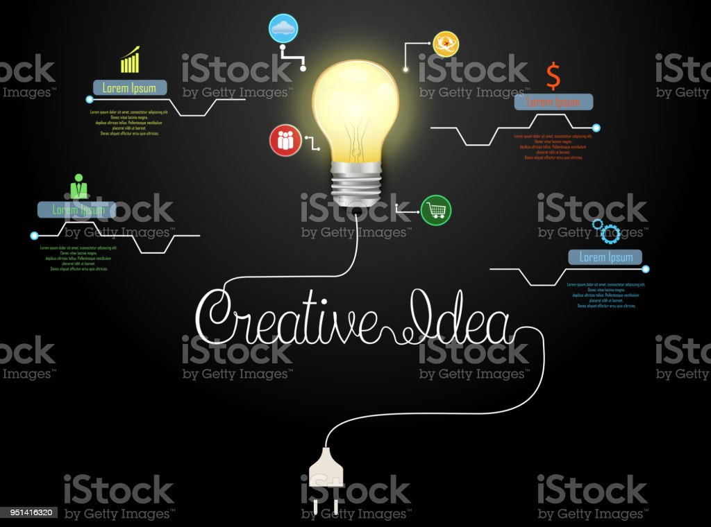 Flow Diagram With Electric Light Bulb Electrical Wiring Diagrams