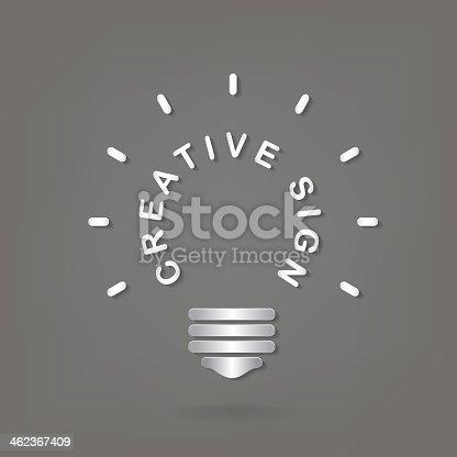 585087100istockphoto Creative light bulb Idea concept 462367409