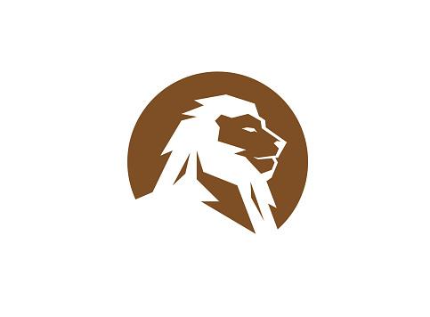 Creative Lion Circle Logo