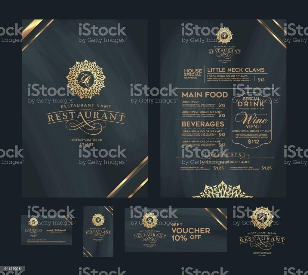 Creative Menu Design Layout Design Design Set For Menu Restaurant Stock Illustration Download Image Now Istock