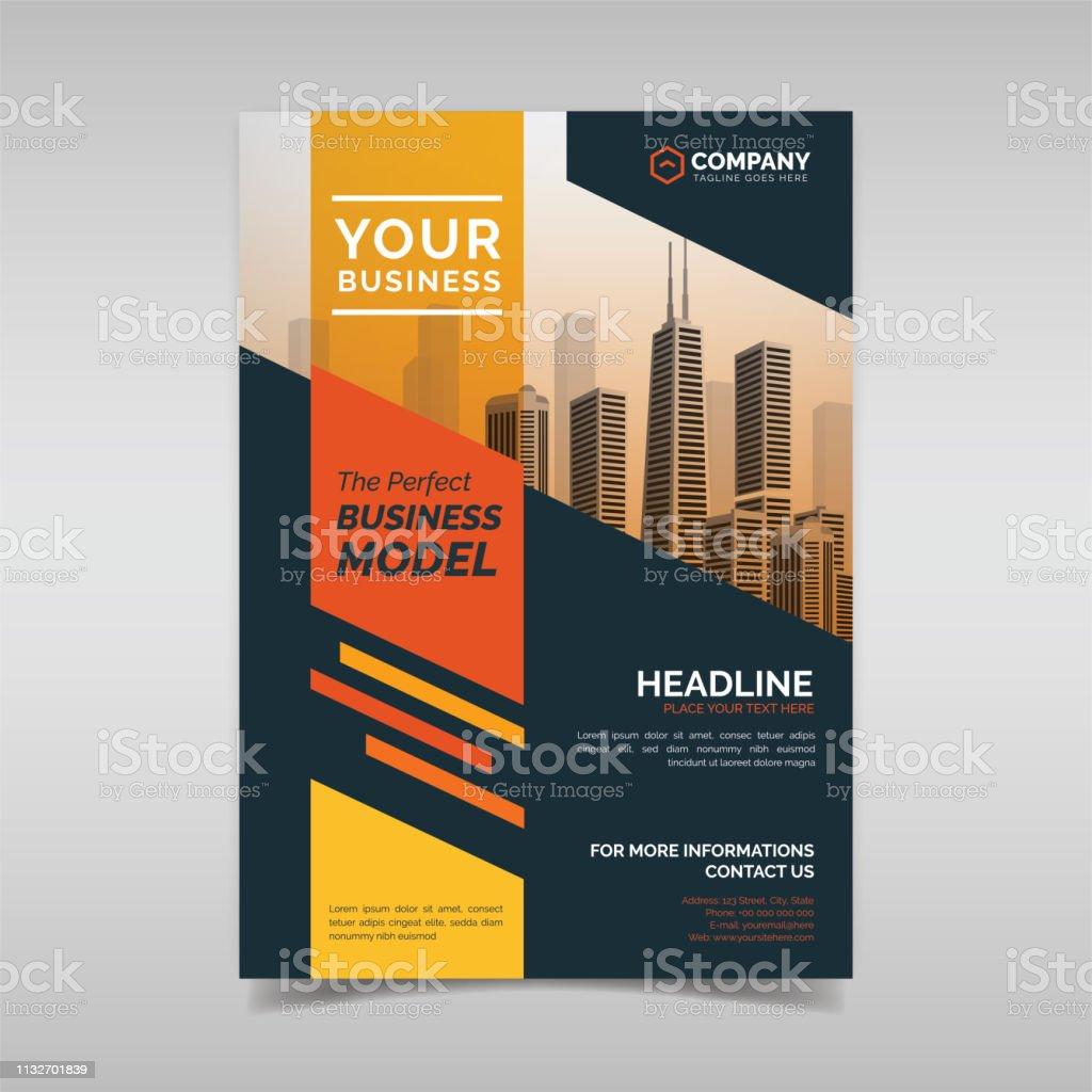 Company Flyer Template from media.istockphoto.com