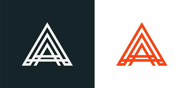 Creative Modern letter A logo