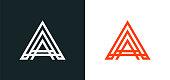 istock Creative Modern letter A logo 1277105989