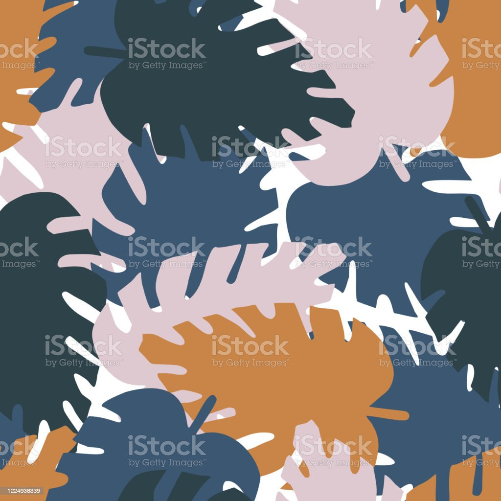 Creative Monstera Leaf Seamless Pattern On Pink Background Tropical Leaves Vector Illustration Exotic Jungle Wallpaper Stock Illustration Download Image Now Istock Tropical leaves vector clipart and illustrations (148,617). https www istockphoto com vector creative monstera leaf seamless pattern on pink background tropical leaves vector gm1224938339 360365947