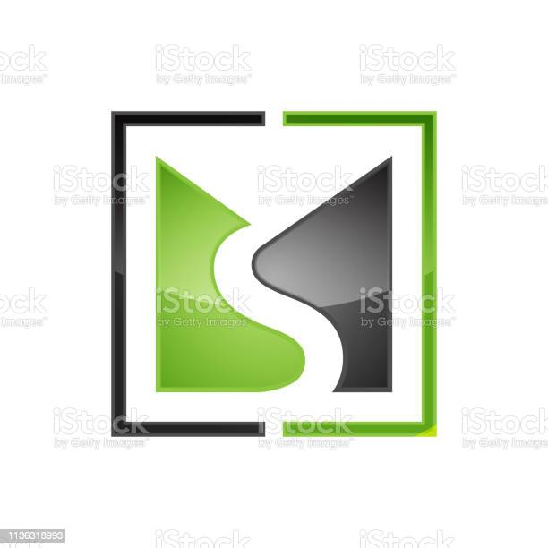 Creative Ms Letter Vector Logo Stock Illustration - Download Image Now