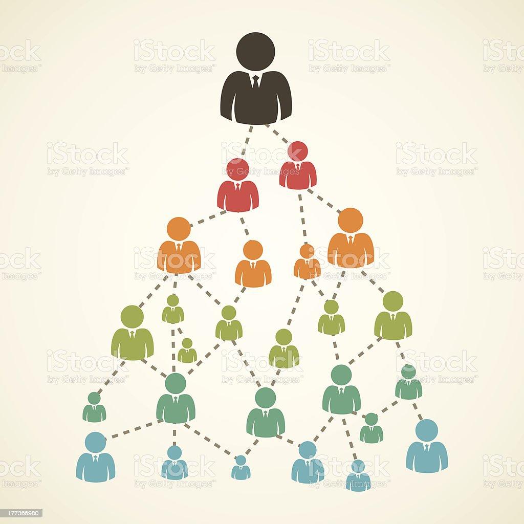 creative people tree royalty-free stock vector art