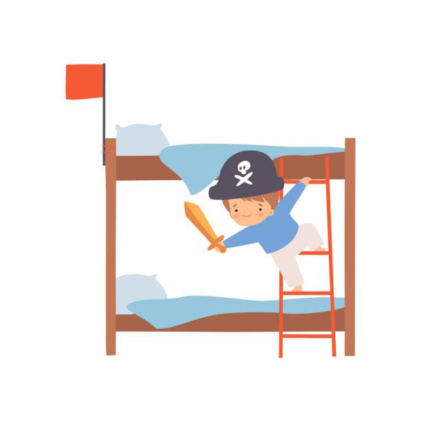20 Ship Bunk Bed Illustrations Clip Art Istock