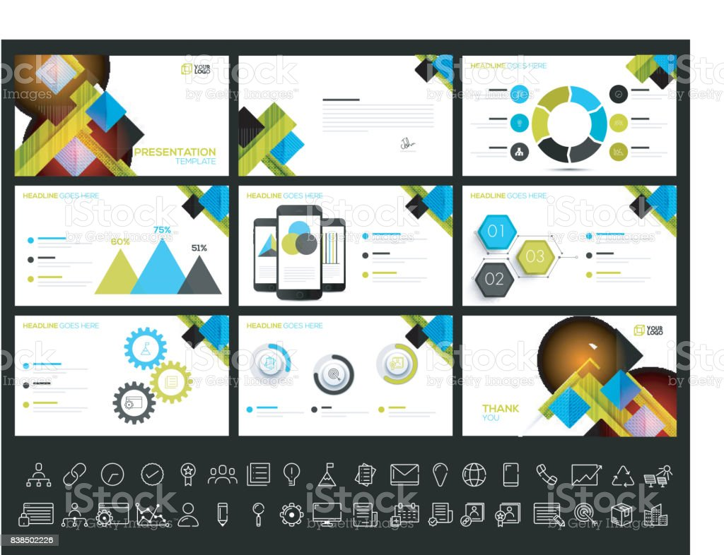 creative presentation templates for your business reports and