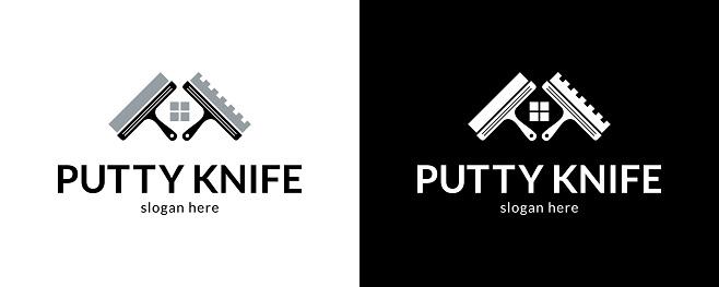 Creative putty knifes logo