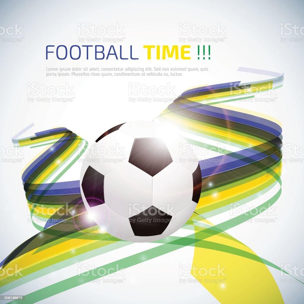 Creative Soccer Vector Design vector art illustration