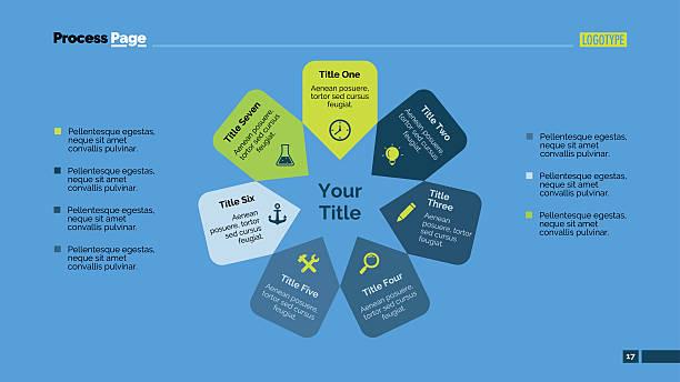 creative star slide template - acute angle stock illustrations