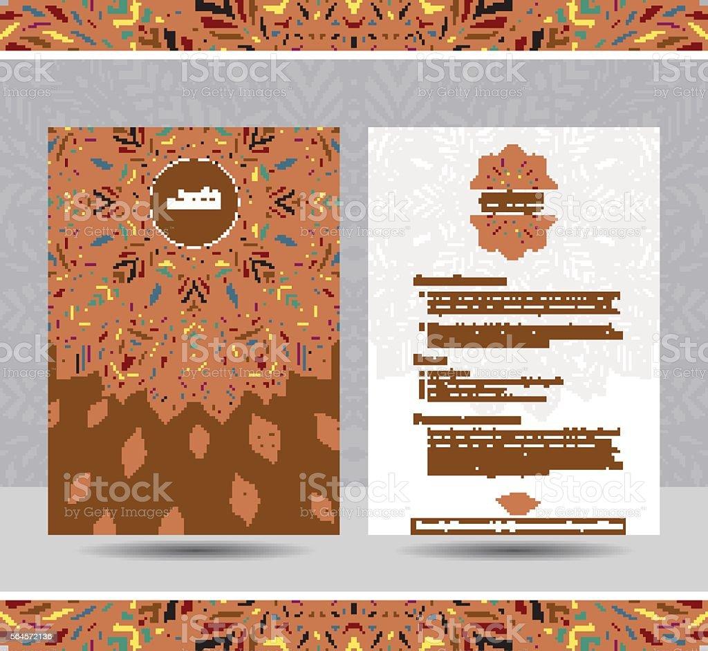 Ilustración de Plantilla Creativa Para Reanudar y más banco de ...