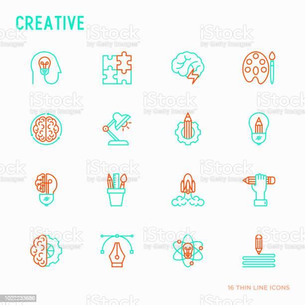 Creative thin line icons set generation of idea start up brief vector id1022233686?b=1&k=6&m=1022233686&s=612x612&h=pp5sftvgat 7rhyrfrxy4bkeg6j8loncfa0zfc 9xl0=