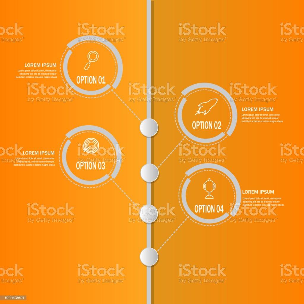 Vetores De Elemento Do Modelo De Cronograma Criativo