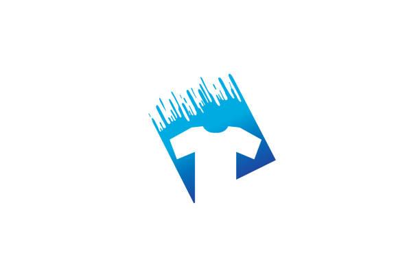 Creative T-shirt Silkscreen Logo Symbol Vector illustration Creative T-shirt Silkscreen Logo Symbol Vector illustration silk screen stock illustrations
