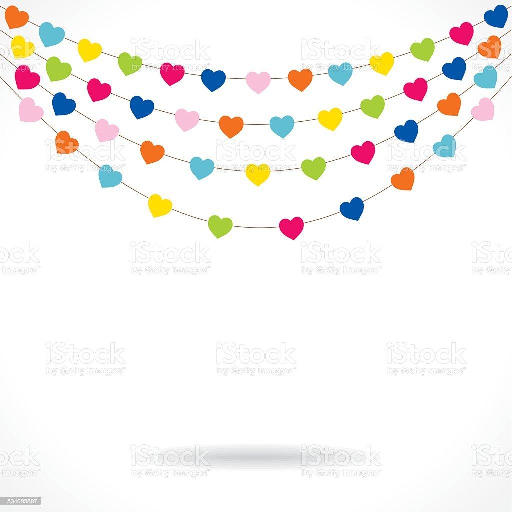 Creative Valentine Or Birthday Banner Design Stock Vector