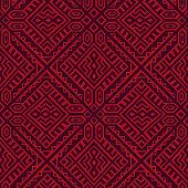 Creative Vector Geometric Seamless Pattern