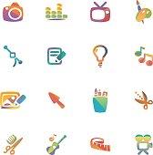 The vector file of creative job icon.