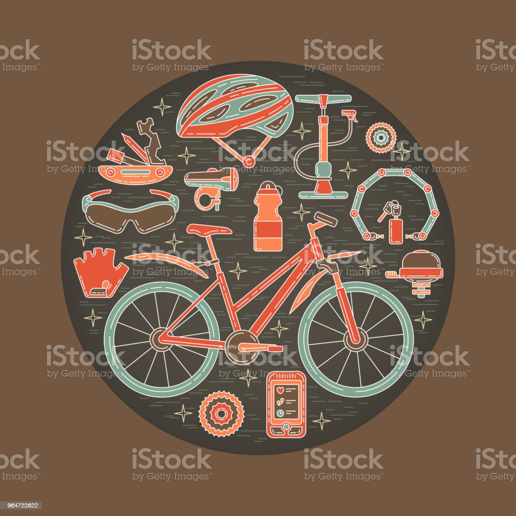 Creative Vector Illustration of Active Lifestyle royalty-free creative vector illustration of active lifestyle stock vector art & more images of art