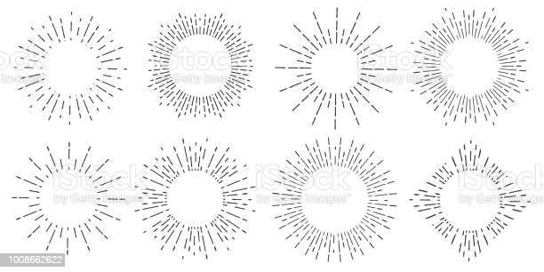 Creative vector illustration of geometric hand drawn sun beams on vector id1008662622?b=1&k=6&m=1008662622&s=612x612&h=rfd pturrpccp yxsps19h3xghanlldyu6ifd5jvmzi=