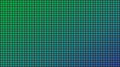 Creative vector illustration of led screen macro texture isolated on transparent background. Art design rgb diode seamless pattern. Abstract concept graphic television projection display element
