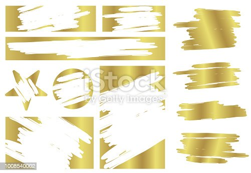 Creative vector illustration of lottery scratch and win game card isolated on background. Coupon luck or lose chance. Art design ripped effect marks. Abstract concept graphic element.
