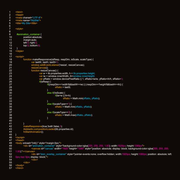 kreative vektor-illustration der programmierung html-code auf dem computerbildschirm auf hintergrund isoliert. kunst design digitale webseite. programmansicht auflistung. abstraktes konzept grafik-technologieelement - html stock-grafiken, -clipart, -cartoons und -symbole