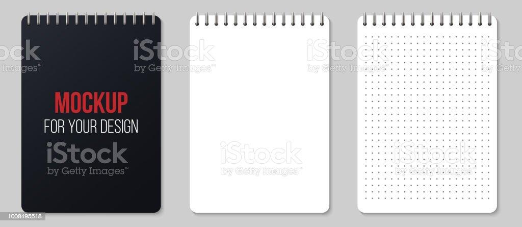 Ilustración de Puntos Y Vectores Creativos Dibujo Realista Cuadernos ...