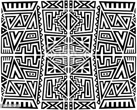 istock Creative Vector Seamless Pattern 936833016
