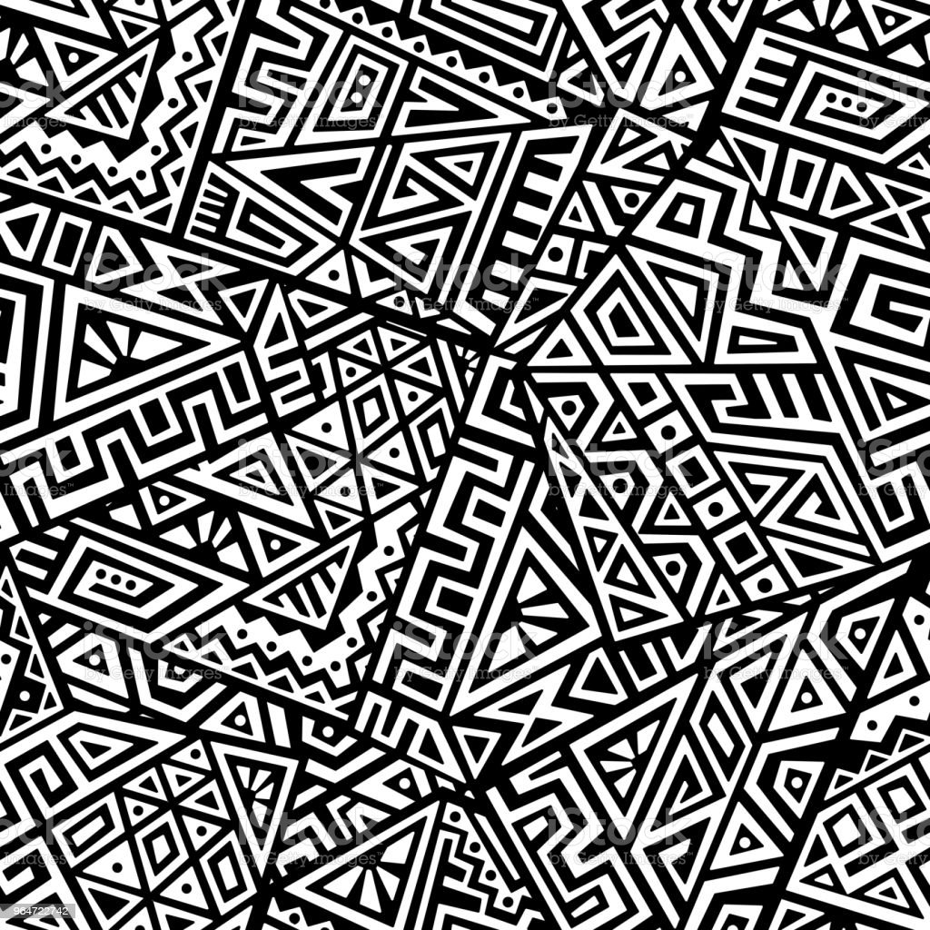 Creative Vector Seamless Pattern royalty-free creative vector seamless pattern stock vector art & more images of abstract