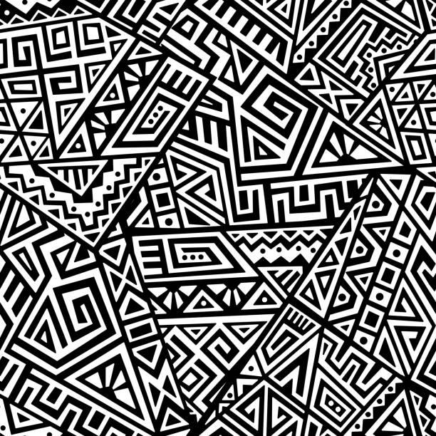 Creative Vector Seamless Pattern vector art illustration