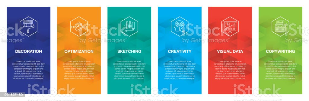 Creative Workshop Infographic Icon Set royalty-free creative workshop infographic icon set stock vector art & more images of abstract