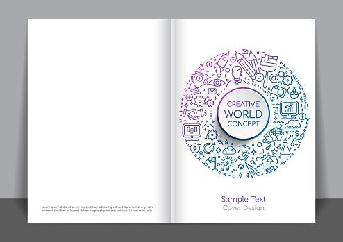 Creativity Cover design