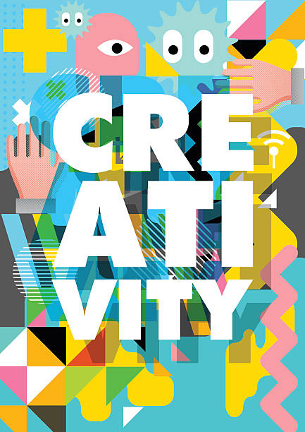 Creativity design vector art illustration
