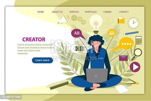 istock Creator & Designer 1198767595