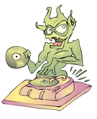 DJ creature